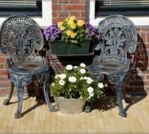 ריהוט גן לעיצוב חכם של הגינה